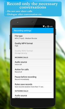 Call recorder: CallRec free screenshot 4