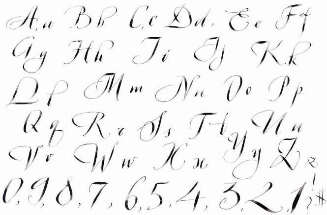 Aplikasi android game Calligraphy Lettering