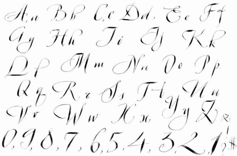 Letra de caligrafía descarga apk gratis arte y diseño
