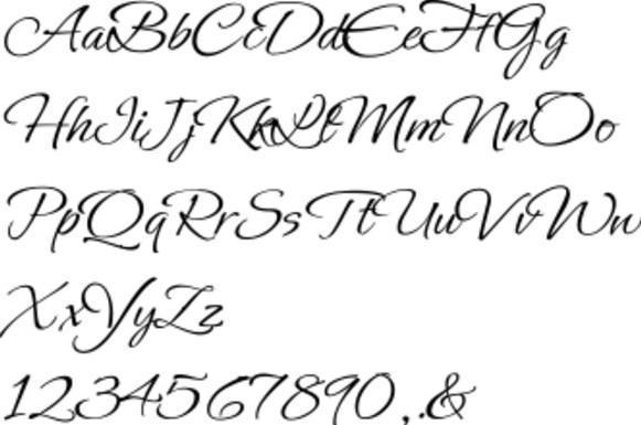 Aplikasi Calligraphy Lettering terbaru 2018