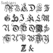 Calligraphy Letter Designs icon