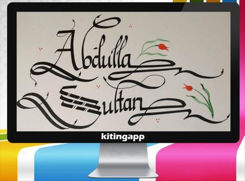 Calligraphy Name screenshot 6