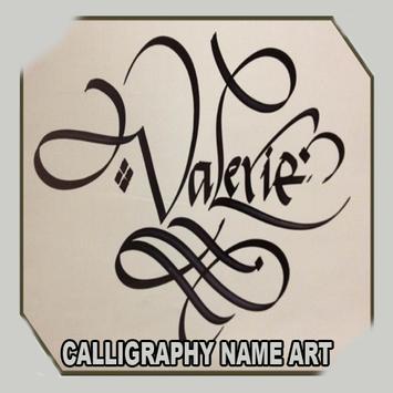 Calligraphy Name Art poster