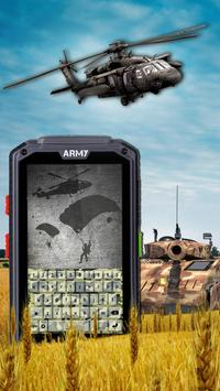 Camo Army Keyboard Themes poster