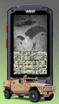 Camo Army Keyboard Themes apk screenshot