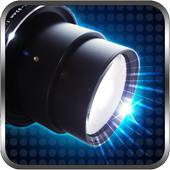 camera flash free icon