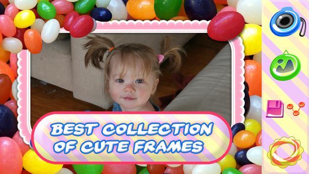 Candy Photo Frames - Cute Pics apk screenshot