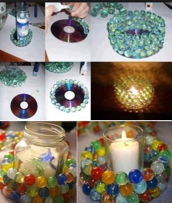 DIY Create Candles poster
