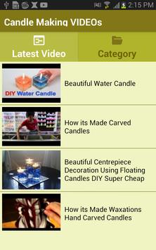 Candle Making VIDEOs apk screenshot