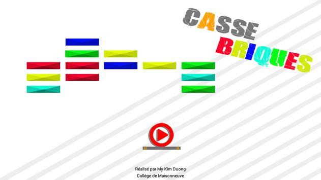 Casse Briques screenshot 1