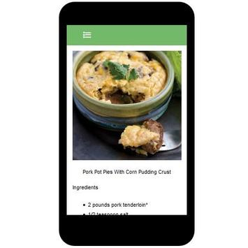 Casseroles Recipes apk screenshot