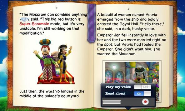 Garfield's BooClips LITE apk screenshot