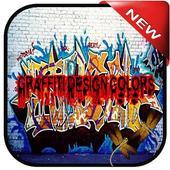 Graffiti Design Colors icon