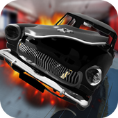 Car Crash Volga GAZ Pro icon