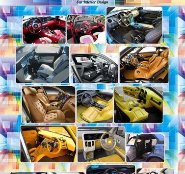 Car Interior Design poster