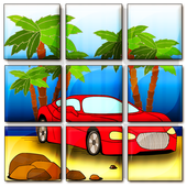 car jigsaw puzzles icon