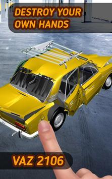 🚗 Car Crash Vaz 2106 Destroy apk screenshot