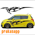 Car Sticker Cutting Design