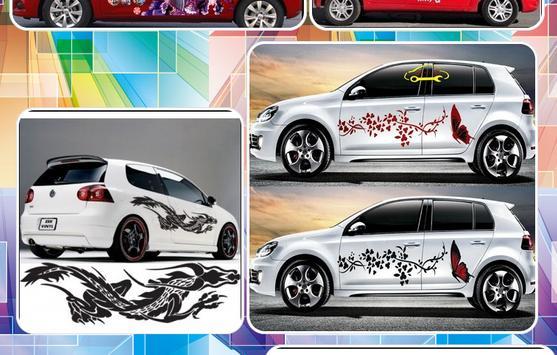 Car sticker design poster car sticker design apk screenshot