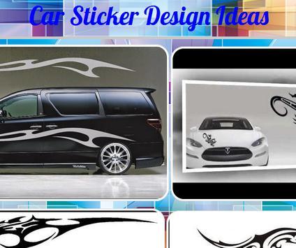 Car Sticker Design Ideas poster
