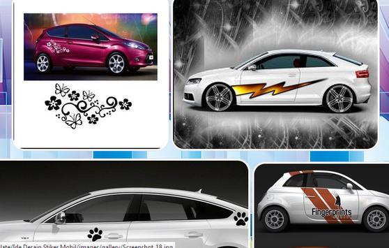 Car Sticker Design Ideas apk screenshot