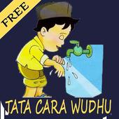 Tata Cara Berwudhu + doa Offline icon