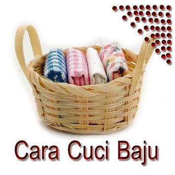 Cara Cuci Baju poster
