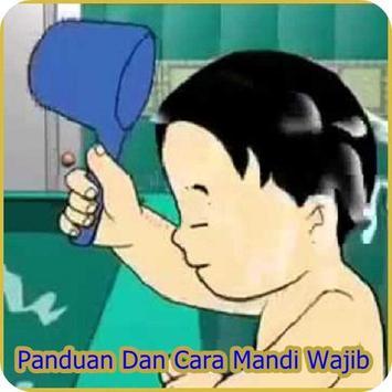 Cara Mandi Wajib poster