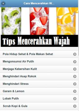 How to Brighten Face apk screenshot