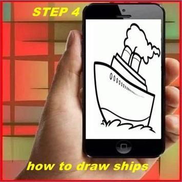 How to Draw Ships apk screenshot