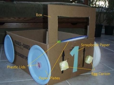 Cardboard Car Project apk screenshot