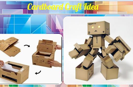 Cardboard Craft Idea poster