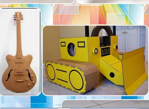 Cardboard Craft Idea apk screenshot