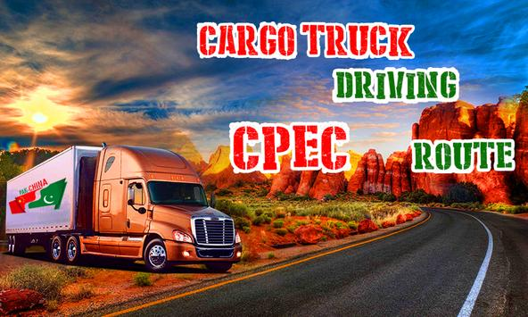 Cargo Truck Driving CPEC Route apk screenshot
