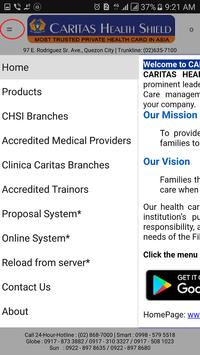 Caritas Health Shield screenshot 2