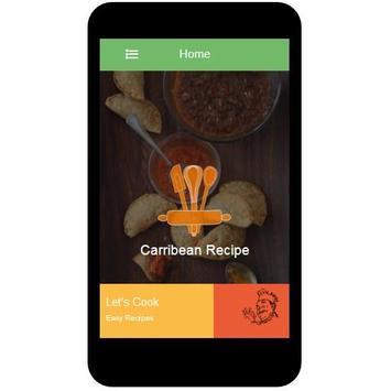 Caribbean Recipes apk screenshot