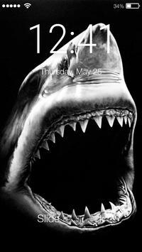 Shark Killer PIN Lock poster