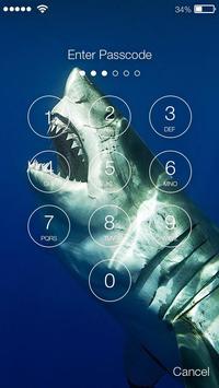 Shark Killer PIN Lock screenshot 1