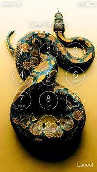 Poisonous Snake PIN Lock apk screenshot