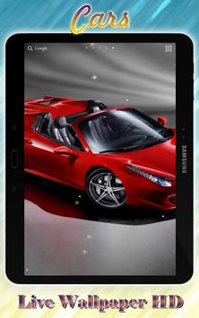 Cars Live Wallpaper HD apk screenshot