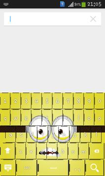 Cool Cartoon Keyboard Theme apk screenshot