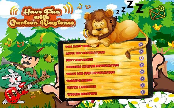 Cartoon Ringtones Free 😜 Funny Sound Effects screenshot 10