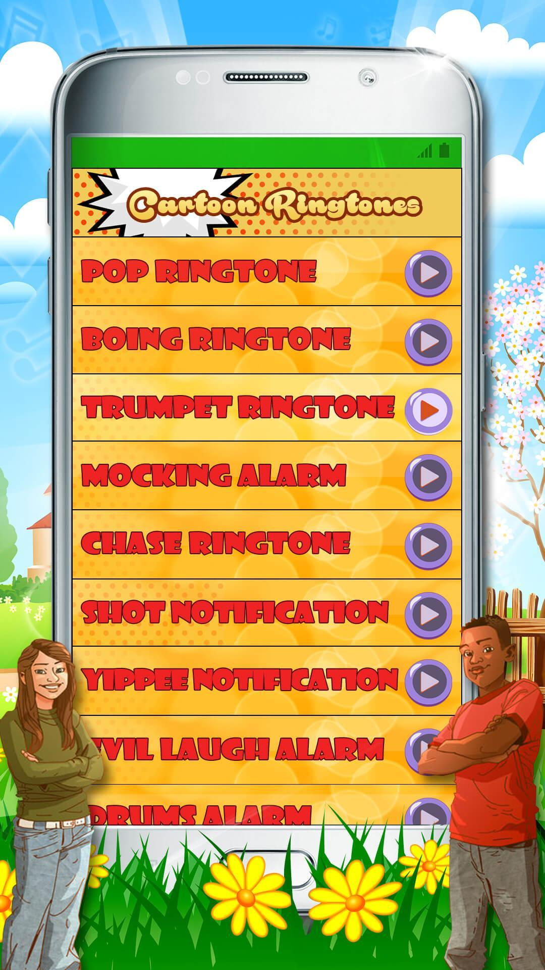 Cartoon Ringtones Free 😜 Funny Sound Effects for Android - APK Download