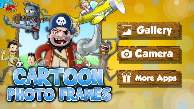 Cartoon Camera Photo Frames APK Download - Free Personalization APP ...