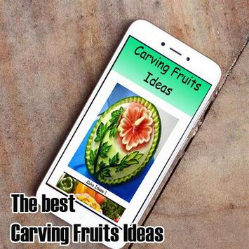 Carving Fruits Ideas poster