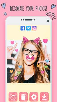 Cat Face Camera Filters and Effects screenshot 2