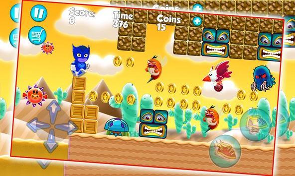 PJ Adventure Masks Night apk screenshot
