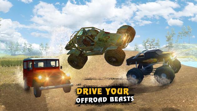 4x4 Offroad Racing Legends 3D screenshot 6