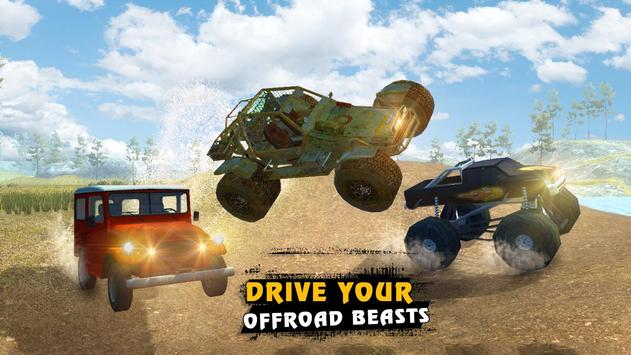 4x4 Offroad Racing Legends 3D screenshot 9