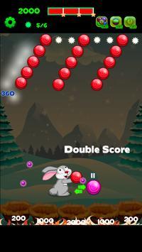 Rabbit Shooter Bubble Smash screenshot 2